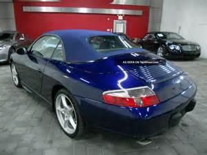 2001 Porsche 911 Convertible 2001 Porsche 911 2dr Cabriolet Automatic