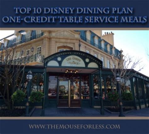 Disney Dining Plan Table Service Disney Dining Plan Table Service Pdf Woodworking