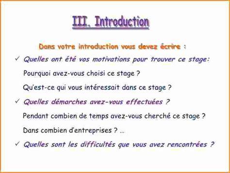 Exemple D Introduction De Lettre Administrative 7 Exemple D Introduction De Rapport De Stage 3eme Exemple Lettres