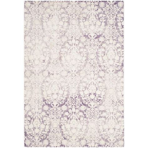 lavender area rugs safavieh lavender ivory 4 ft x 5 ft 7 in area