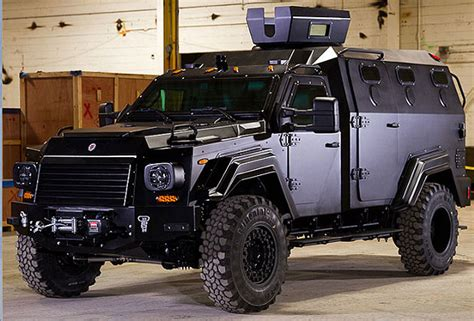 homemade tactical vehicles j r smith apparently drives a 450 000 armored truck