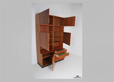 prefab bookshelves modular bookcase in teak room of
