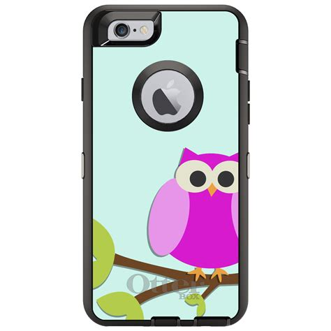 Luxo Glowing Hardcase Owl Series For Iphone 6 6s custom otterbox defender for iphone 6 6s plus pink owl ebay