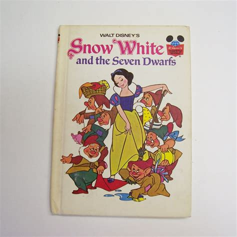 snow white and the seven dwarfs picture book snow white and the seven dwarfs bound book from