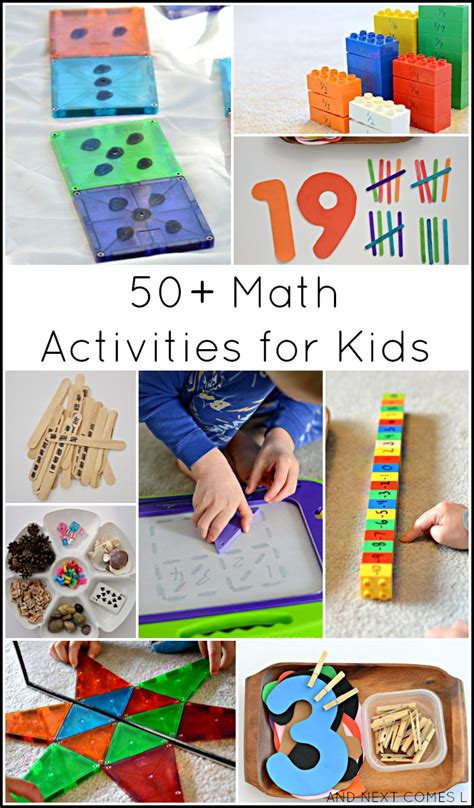 guest post 50 creative math activities for