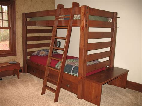 Bunk Beds Handmade - custom made bunk beds by livelywood decor custommade