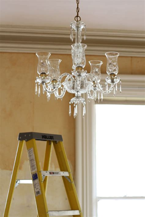 How To Clean A Chandelier Apartment Therapy Tutorials How To Clean Chandeliers