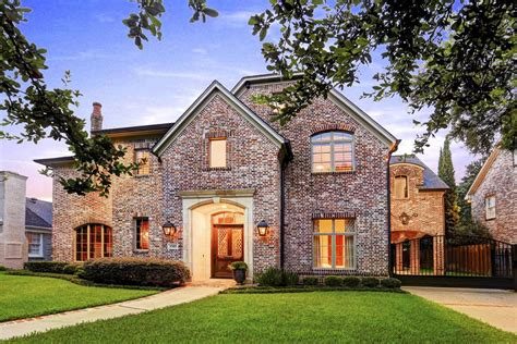 Brick House Houston by 3505 Tangley West Place Tx 77005 Greenwood