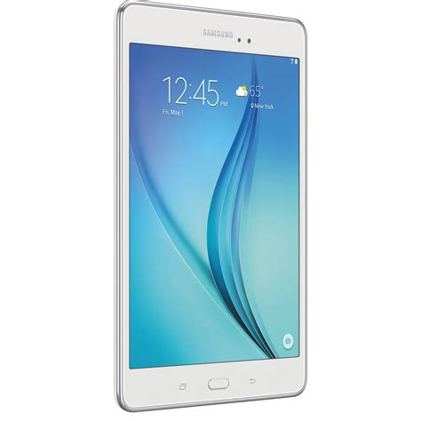 Samsung Galaxy Tab A 8 samsung 16gb galaxy tab a 8 0 quot wi fi tablet sm t350nzwaxar