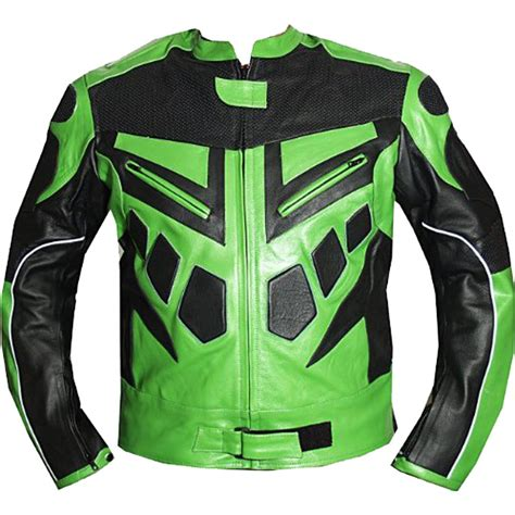 motorcycle riding jackets with armor armor motorcycle riding leather jacket in green leather