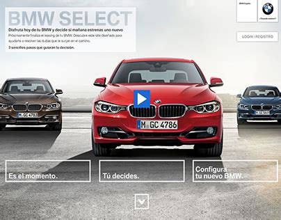 What Is Bmw Select by Bmw Select Microsite On Behance