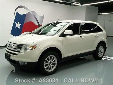 buy car manuals 2010 ford edge parking system buy used 2010 ford edge sel v6 park assist alloy wheels 51k mi texas direct auto in stafford