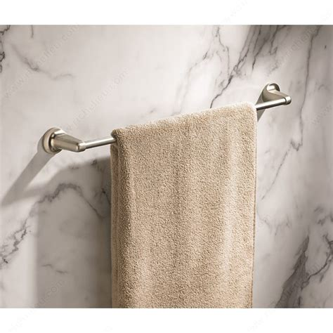 decorative bathroom towel bars towel bar soho collection richelieu hardware