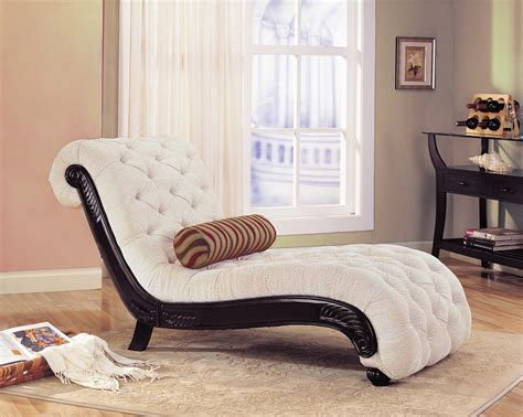 Black And White Chaise Lounge Chair by Chaise Lounge Chairs For Bedroom Decofurnish