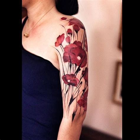 poppies tattoo best tattoo ideas gallery