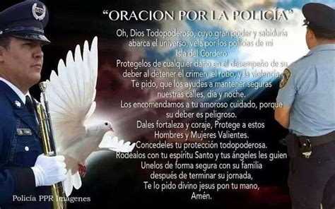 oracion con la palabra policia oracion por los policias oraciones pinterest oraci 243 n