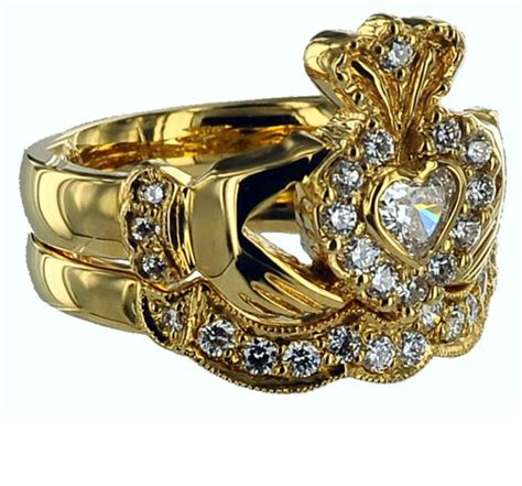 Engagement Gold Ring Pic by Pics For Gt Gold Claddagh Engagement Ring