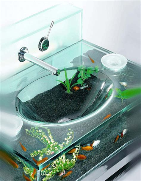 aquarium bathtub 15 unusual and creative aquariums