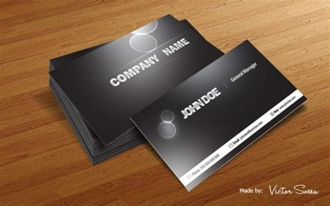 glossy business card template glossy business card mockup psd free