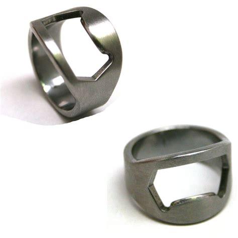 Bottle Opener Ring bottle opener rings