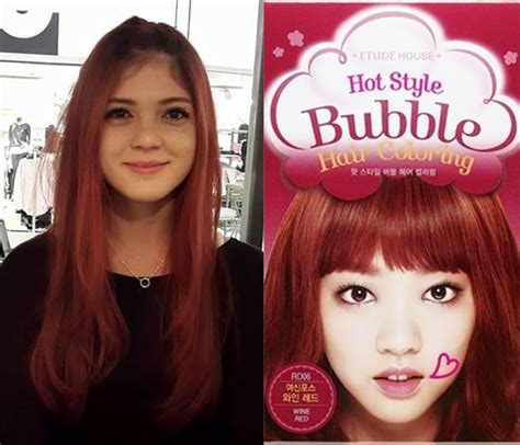 Etude Hair Colour lucid doll coloring my hair with etude house