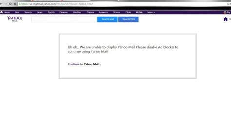 yahoo email block yahoo is blocking some users from accessing emails until