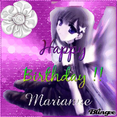 marianne design happy birthday happy birthday marianne picture 130333307 blingee com