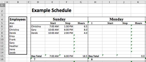 staffing templates excel staffing model free template