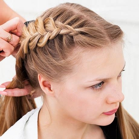 hair desings with plated hair plait hair styles