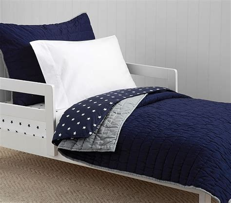 Quilted Toddler Bedding by Branson Toddler Quilted Bedding Pottery Barn