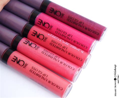Lipgloss Oriflame oriflame the one colour unlimited lip gloss review