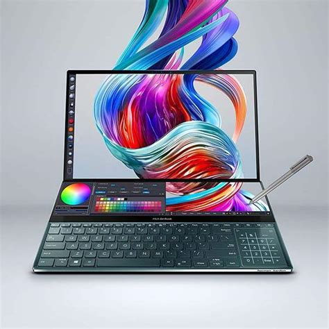 asus zenbook pro duo dual screen laptop gadgetsin