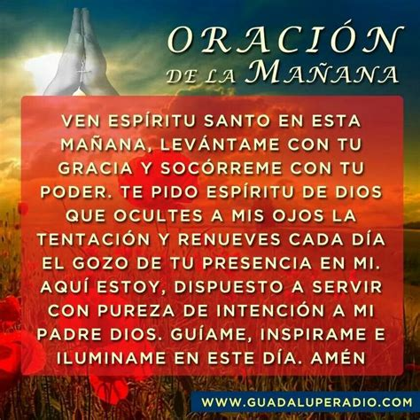 oracion de la manana 220 best images about oraciones diversas on pinterest