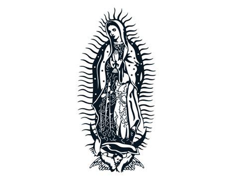 imagenes religiosas vectores virgen de guadalupe en vector vectormasvector
