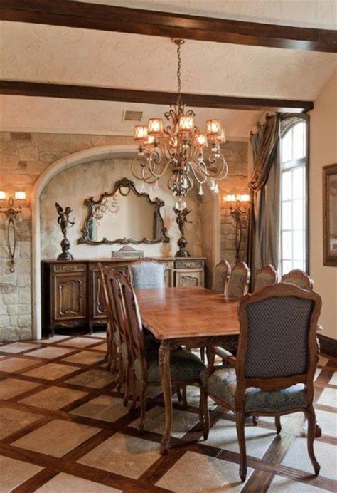 French country estate traditional dining room austin by bravo interior design