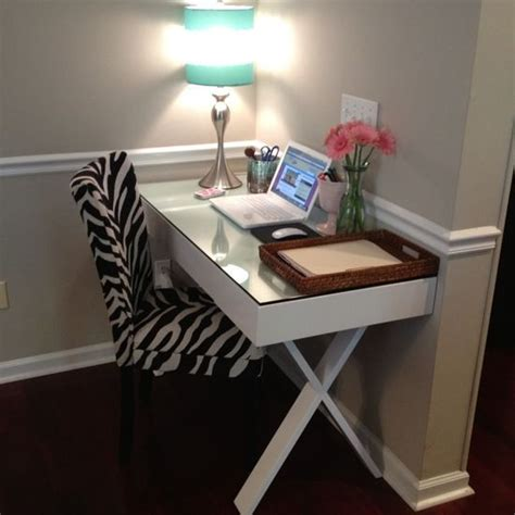 My Office World Market Josephine Desk In White Zebra White Josephine Desk