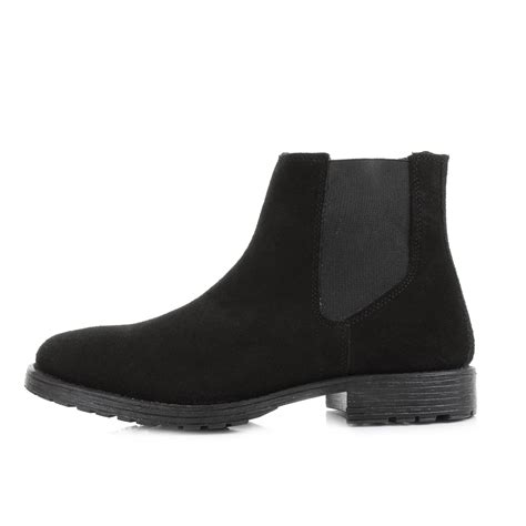 black suede boots mens mens and jones radnor black suede pull on chelsea