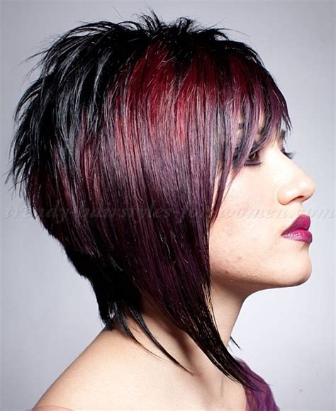 medium length hairstyles for straight hair   inverted long