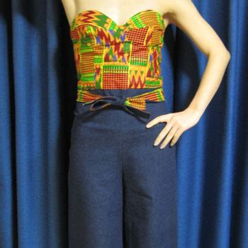 sewing kente styles kente jumpsuits sewing projects burdastyle com
