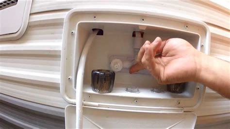 How To Stop A Leaky Kitchen Faucet how to repair a leaky faucet on your rv camper youtube
