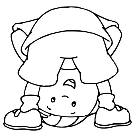 Free Printable Caillou Coloring Pages For Kids Printable For Toddlers