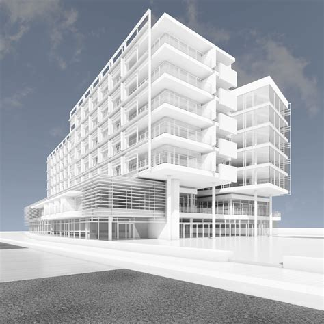 design apartment jesolo jesolo lido hotel richard meier partners architects