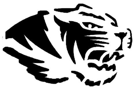 mizzou tiger coloring page missouri tiger coloring pages printable missouri best