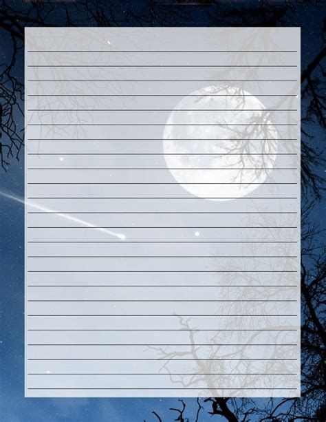 moon writing paper 284 best clip sun moon clouds printables