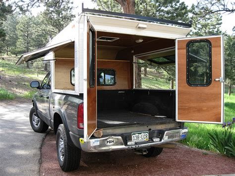 Homemade 4wd Awning The Open Air Camper Build Callen On Dodge Short Bed
