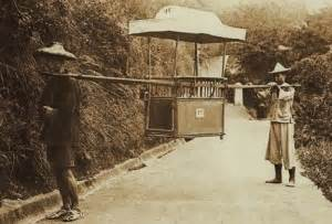 Sedan Chair China by Hong Kong History For Dummies Part 3 A Non Boring Timeline