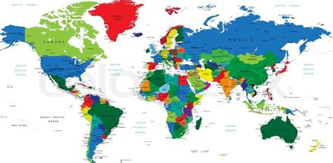 world map of cities and countries detailed world map with countries big cities and other
