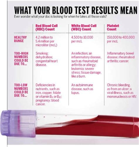 What Is It When Blood Is In Your Stool by What Your Blood Test Results Blood Test