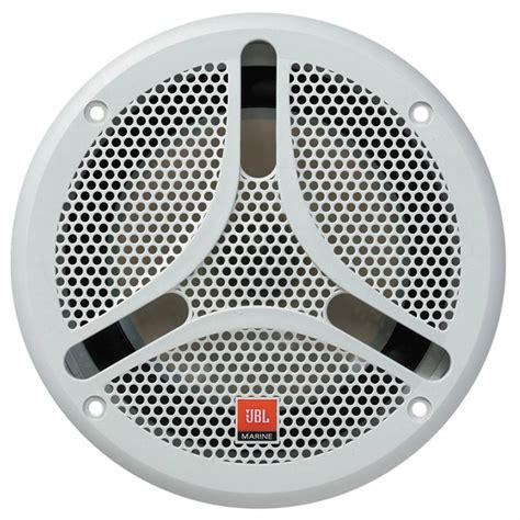 jbl marine speakers jbl 174 ms 6100b 6 1 2 quot dual cone marine speaker black