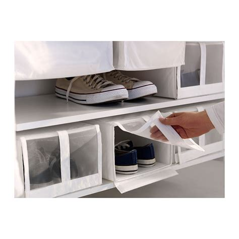 ikea shoe bin skubb shoe box white 22x34x16 cm ikea